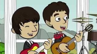 The Beatles - Love Me Do (Spankox Liverpool Remix) [Animated Video]