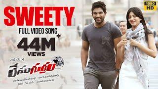 Race Gurram Songs | Sweety Sweety Video Song | Allu Arjun, Shruti hassan, S.S Thaman