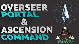 Spawn an Overseer Portal & How to ASCEND in ARK | Unlock Ragnarok on Xbox and PS4