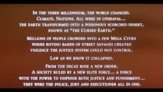Judge Dredd 1995 Intro