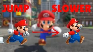 Super Mario Odyssey, But Every Time Mario Jumps, It Gets Slower