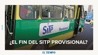 Empezó el desmonte de las rutas del SITP provisional l EL TIEMPO l CEET