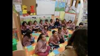 Sessão de histórias no Jardim de Infância do Lumiar