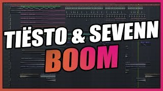 Tiësto & Sevenn - Boom (FL Studio Remake) + FREE FLP