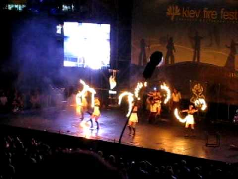 "Kiev Fire Fest 2011 – Ukraine, ""Pantera"" team"