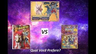 Comerciais Brinquedos - CDZ XSamurai Warriors X Shurato (Qual você prefere)
