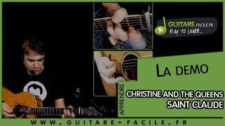 Cover Saint claude de Christine and The Queens  - Tuto Guitare