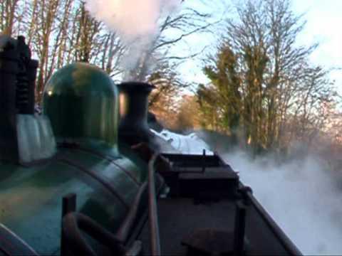 Santa Polar Express Bo'ness & Kinneil Railway 5th December 2010 – Footplate Ride