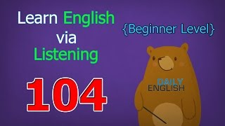 Learn English via Listening Beginner Level | Lesson 104 | The Library