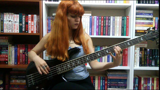 Muse  - Panic Station (Bass Cover)