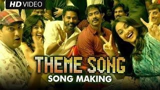 Making of (AJ Theme Song) | Action Jackson | Ajay Devgn, Prabhu Dheva & Sonakshi Sinha