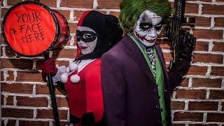 Joker & Harley Quinn (Cosplay Performance) live @ Hi! Nippon Fest 2016