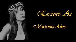Luan Santana - Escrevi Ai by Marianne Alves (cover)