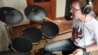 Twisted Sister - I Wanna Rock (Drum Cover by Drummerexe)
