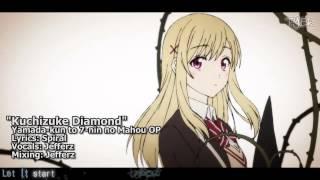 """[TYER] English Yamada-kun to 7-nin no Majo OP - """"Kuchizuke Diamond"""" [feat. Jefferz]"""