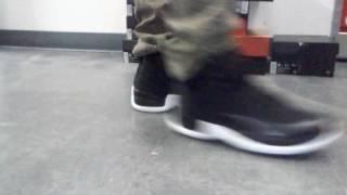 "Jordan 12 ""Nylon"" on feet"
