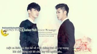 [Vietsub] 120923 TVXQ! Kakao Talk Voice Message