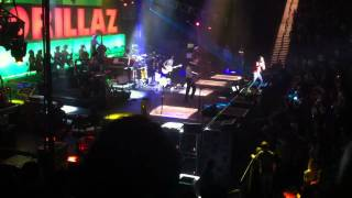 "Gorillaz ""Rhinestone Eyes"" Live October 6, 2010 Boston"
