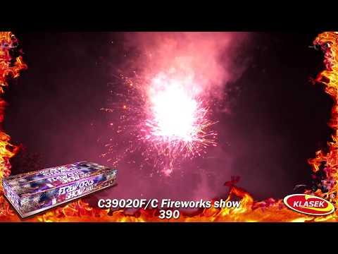 Pyrotechnika Kompakt 390ran / 20mm Fireworks show 390