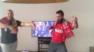 Bailando Benfica tricampeão