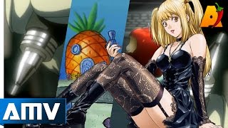 Pen Pineapple Apple Pen 「AMV」- Death Note x SpongeBob || PPAP Anime Parody