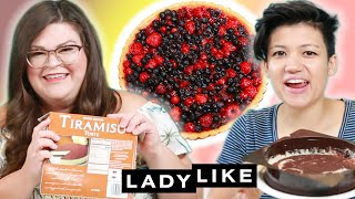 Kristin and Jen Try Every Trader Joe's Frozen Dessert • Ladylike