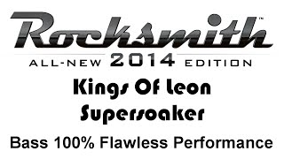 """Kings Of Leon """"Supersoaker"""" Rocksmith 2014 bass cover finger"""
