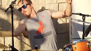 "Jamie Dull - ""Funk 49"" drum solo with Thick Six on 8-12-2015"