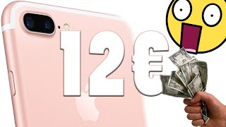 L'iPhone 7 coûte 12€ à Apple ??!!