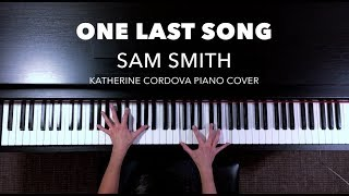 Sam Smith - One Last Song (HQ piano cover)