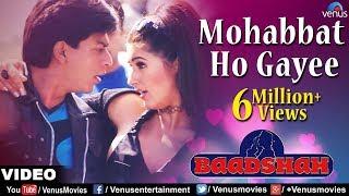 Mohabbat Ho Gayee Full Video Song | Baadshah | Shahrukh Khan, Twinkle Khanna | Abhijeet & Alka