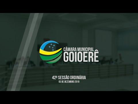 Vídeo na íntegra da Sessão Ordinária da Câmara Municipal de Goioerê dessa segunda-feira, 02