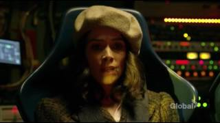lucy wyatt and rufus first time going back in time Timeless 1x01 clip