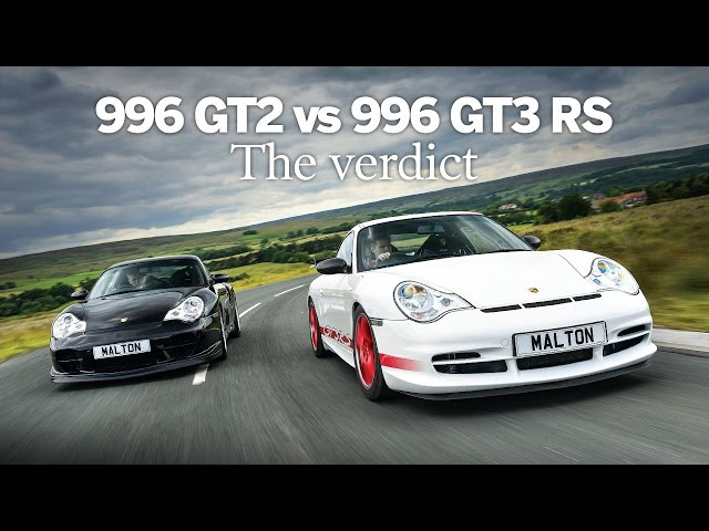 Porsche 996 GT2 vs 996 GT3 RS | The verdict