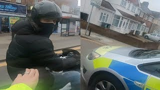 I almost died! Moped Thieves Pursuit 2019 London Near Ace Cafe