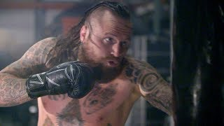 Aleister Black's hard-hitting workout for TakeOver: New Orleans