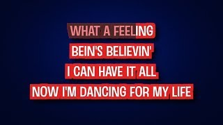 Flashdance... What A Feeling - Irene Cara | Karaoke LYRICS