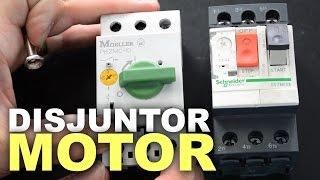 Disjuntor motor para acionamento e proteção de motores elétricos