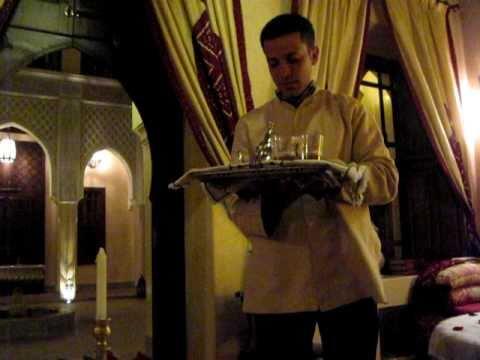 Tea at a Marrakech Riad