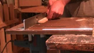 Рамки. Изготовление боковых планок на фрезере
