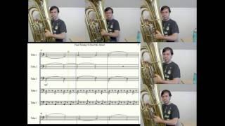 Final Fantasy VIII-Don't Be Afraid (Battle Theme)-Tuba Cover