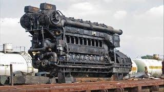 Big Engines Starting Up