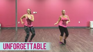 French Montana - Unforgettable ft. Swae Lee (Dance Fitness with Jessica)