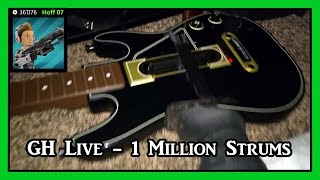 Guitar Hero Live Strumillionaire Achievement - Fast Way To Get 1 Million Strums