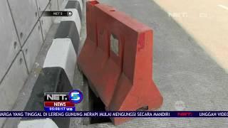Penutup Gorong Underpas Mampang Hilang -NET5