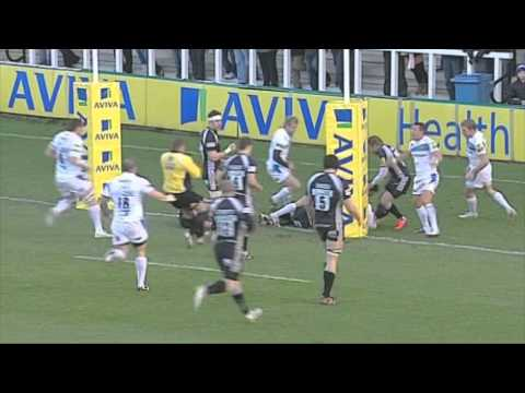 Newcastle Falcons 10-16 Exeter Chiefs – Aviva Premiership Rugby Highlights Round 13 | 07-01-12