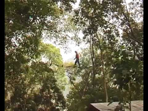 bungy jump in nepal.flv