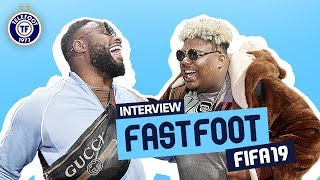 """""""MHD est vraiment nul !"""" L'interview Fast Foot FIFA 19 de Naza et Gradur"""