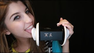 ASMR Ear Licking ~ Extreme Mouth Sounds for Tingle Immunity