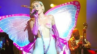 Miley Cyrus - SMS (Bangerz) (Live) at the Adult Swim Party 2015
